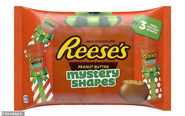 Something different: Hershey's is debuting a new holiday offering from Reese's: mystery shapes