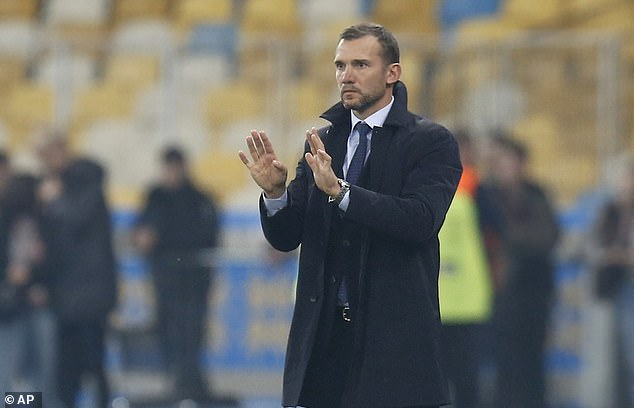Andriy Shevchenko will lead his side out at the Euro 2020 finals after securing a vital 2-1 win