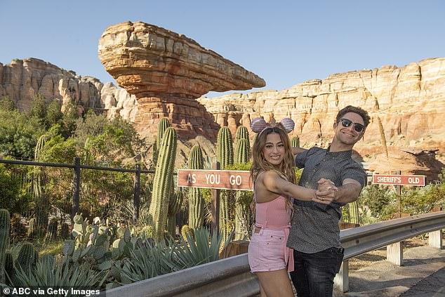 Disneyland trip: Ally and Sasha visited Disneyland in Anaheim, California as they prepared for Disney Night