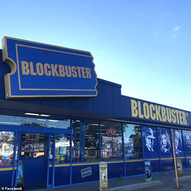 The video rental store in Bent Oregon was due to close its doors this year following the announcement that the penultimate store in Perth, Australia, (pictured) would shut