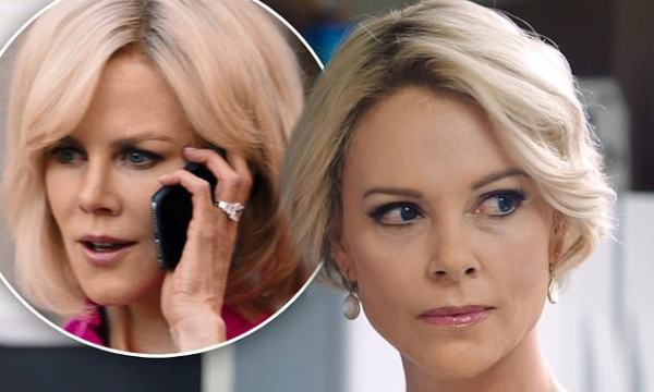 Charlize Theron looks identical to Megyn Kelly in Bombshell trailer