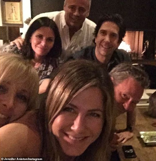 Wow!While Paul was keeping an arm's length towards the series, the rest of the Friends were happy to reunite recently, as seen on Jennifer Aniston's brand new Instagram