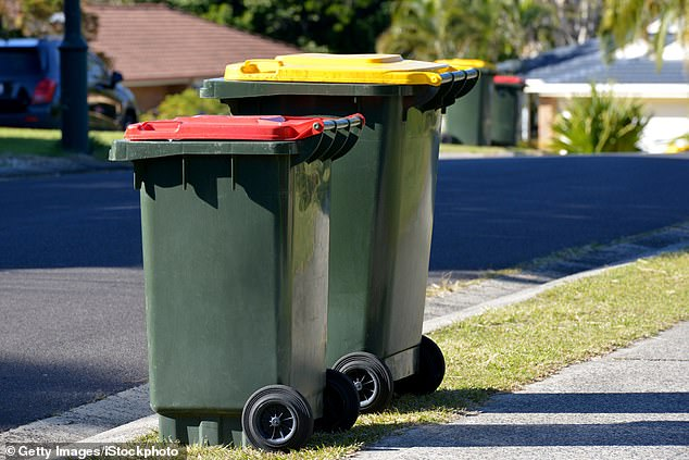 The soilwas given to farmers under a so-called 'green' program started by NSW Labor which takes household red lid bins and recycles the material into soil