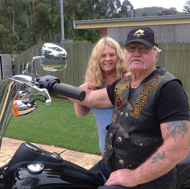 Comanchero bikie gang founder William 'Jock' Ross was seriously injured in the crash, requiring two bouts of lifesaving surgery, including an operation dealing with major trauma to his pelvis