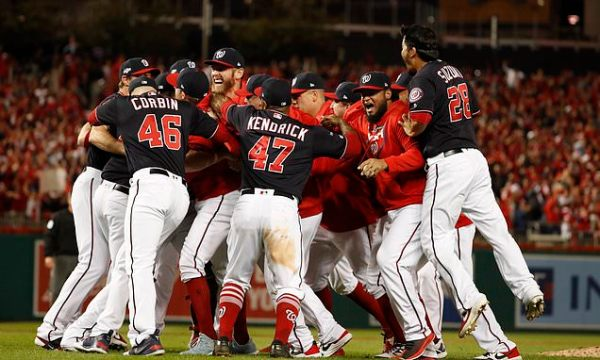 Nationals sweep to first World Series behind 7-run first
