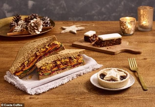 The brand are sure to delight their Vegan customers with their brand new Vegan additions to the Christmas menu