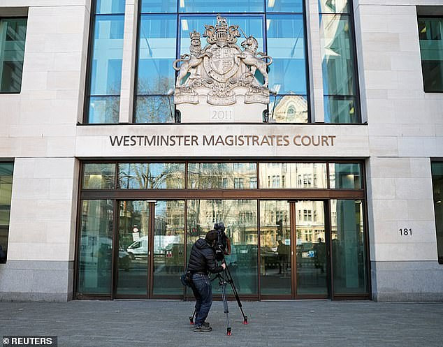 Shaikh was remanded in custody at Westminster Magistrates Court (pictured) yesterday