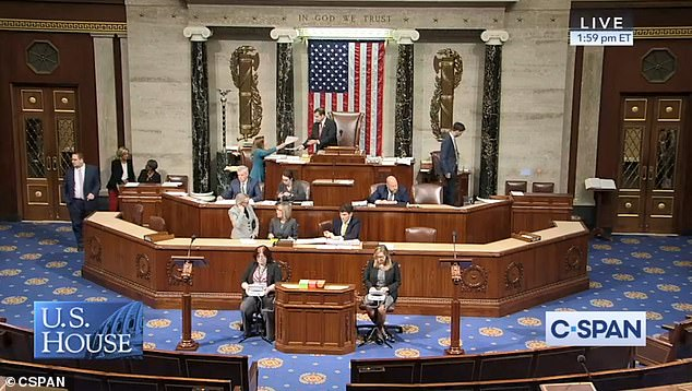 The House voted 354 to 60 for a resolution opposing Trump's moves in Syria