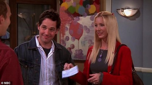 Paul played Lisa Kudrow's character Phoebe's love interest turned third husband, Mike Hannigan, during the later seasons of the show