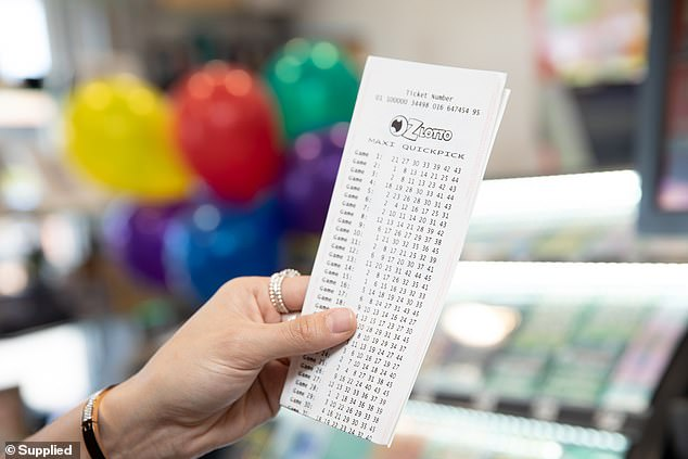 The winning numbers were 5, 32, 22, 13, 20, 25 and 42. The supplementary numbers were 21 and 23 (stock image)