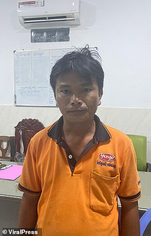 Taxi driver Seng Srun confessed to the rape
