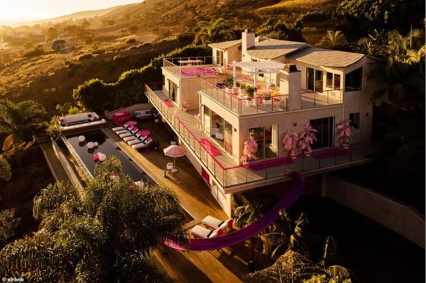 The Barbie Malibu Dreamhouse - which can be YOURS for just $60 a night