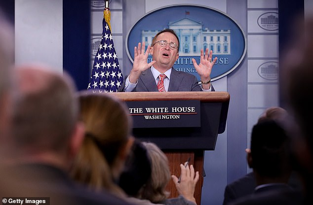 Mulvaney called linking the funds to the president's search for a Democratic server 'absolutely appropriate'