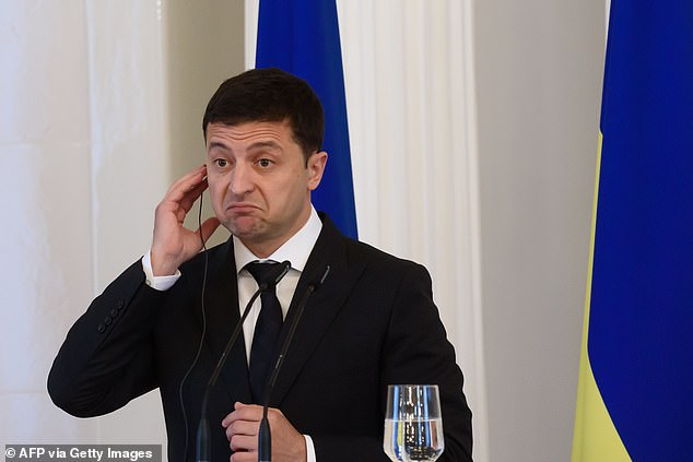 Trump raised the issue personally in a phone call withPresident of Ukraine Volodymyr Zelensky