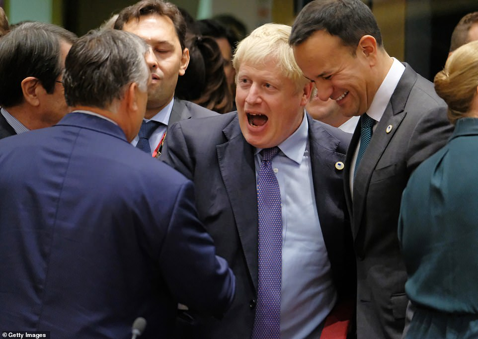 19856836 7585883 image a 16 1571345355280 - Irish PM supports Tusk's proposal for Brexit extension