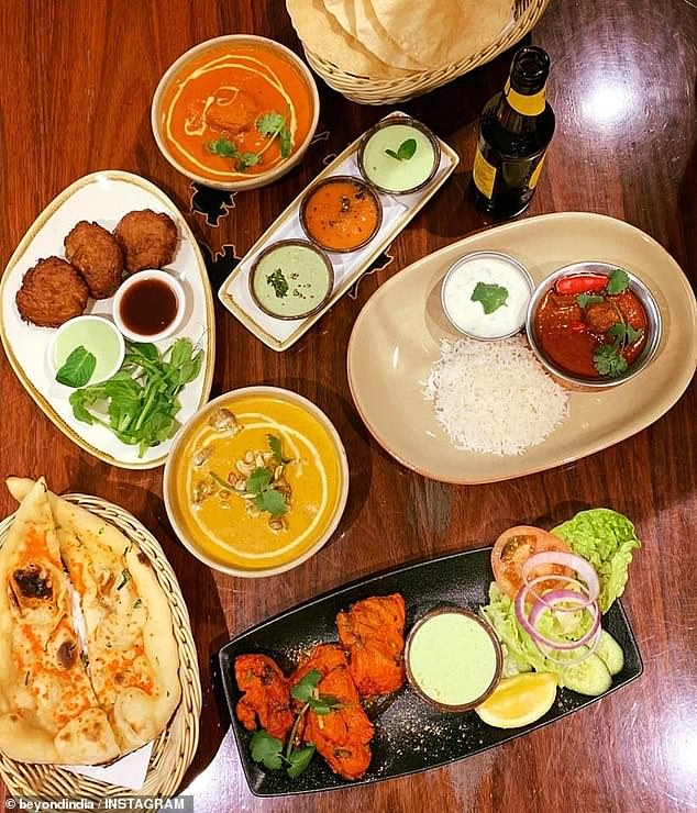 South Australia's Beyond India (pictured) is an award-winning Modbury North restaurant known for its traditional and authentic Indian food offering