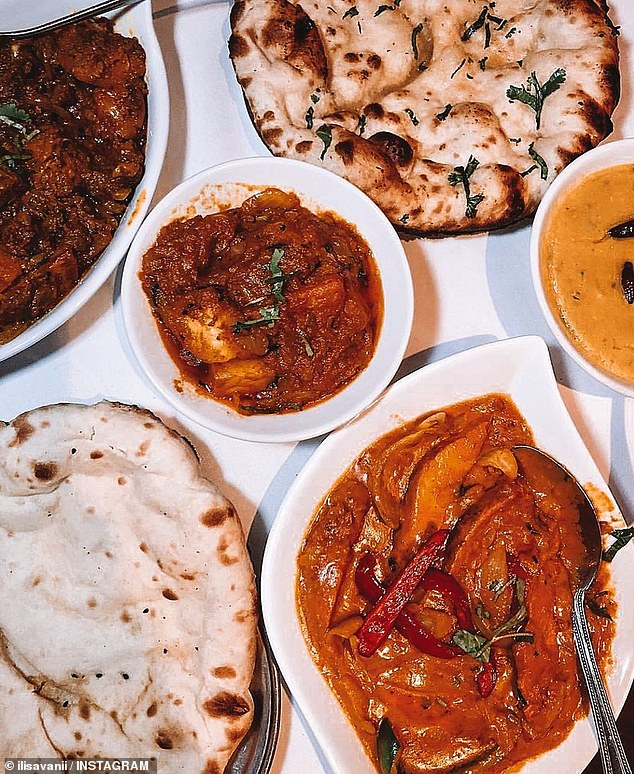 The awards also revealed the most popular restaurant in each state, including Newtown's Kammadhenu (pictured), an eatery specialising in South Indian, Sri Lankan and Malay curries