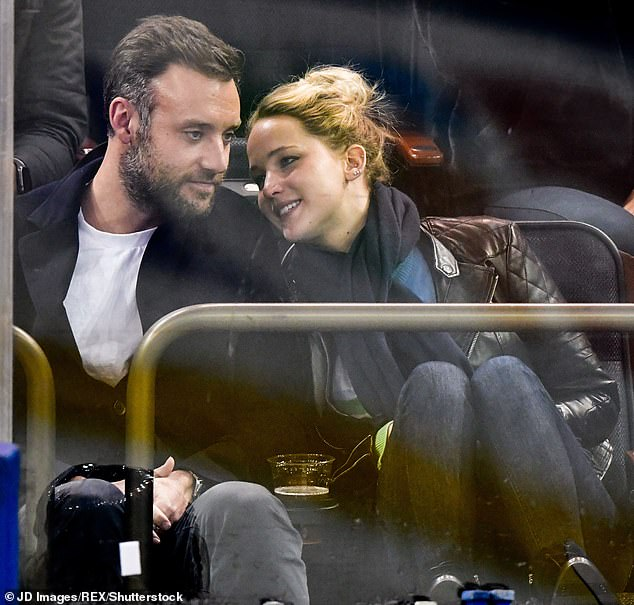 Hunk:The 29-year-old Oscar winner and her 34-year-old bridegroom Cooke Maroney have invited 150 people to their nuptials there, TMZ reports