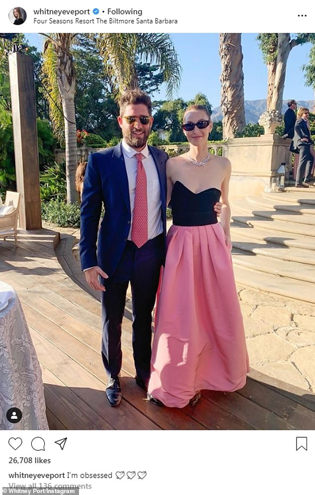 Celebrate! The couple are back in Los Angeles after enjoying a weekend getaway to Santa Barbara, where they attended a wedding at the Four Seasons Resort The Biltmore