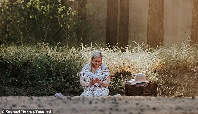 'If the book could one day be given to women in hospital or who go through their GP for miscarriage loss, or their specialist, it would be comforting to know that it might help them through their time of grief,' author Rachael Tickner told Daily Mail Australia