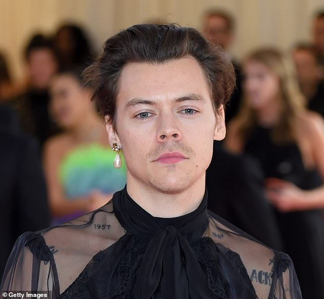 Former One Direction star Harry Styles arriving for the 2019 Met Gala, who has cryogenically frozen his entire wardrobe