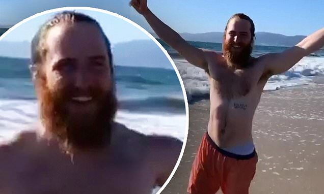 Mike Posner concludes SIX-MONTH cross-country walk