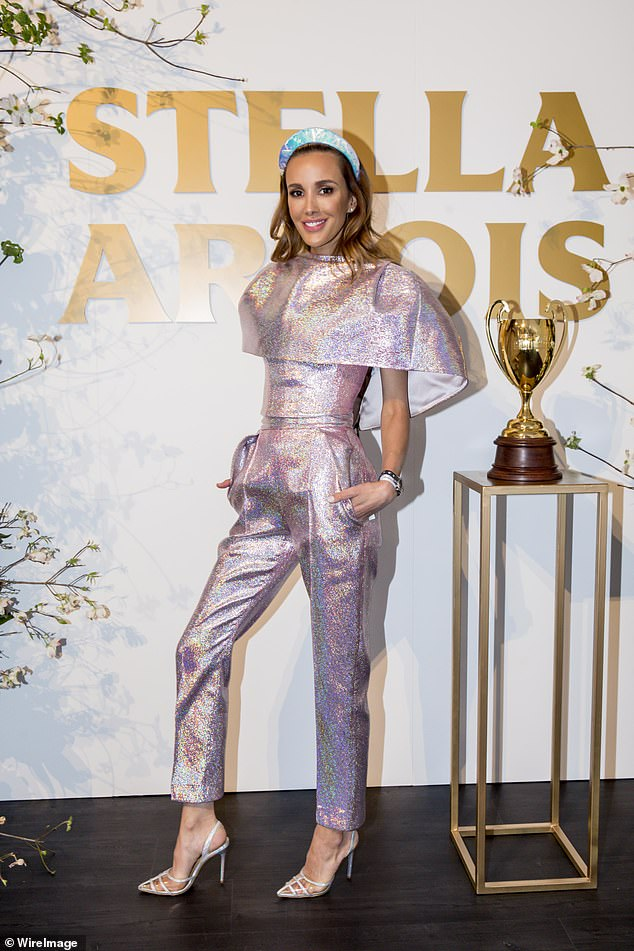 'I feel like David Bowie would be vibing this outfit!' Rebecca Judd's Caulfield Cup outfit has divided her longtime fans