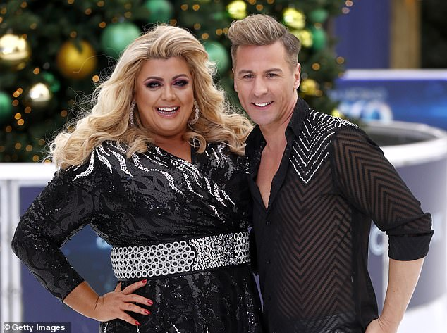 Skater: American Matt, also 43, who has been skating on the show since it began in 2006 and was last year partnered with Gemma Collins, came out as gay in 2018