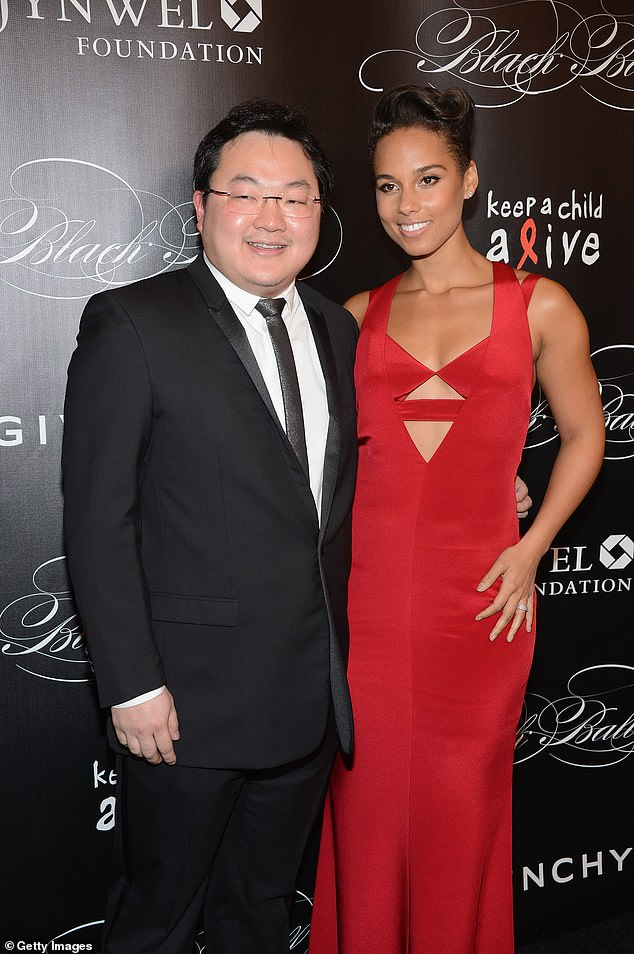 Low and Alicia Keys attend Keep A Child Alive's 10th Annual Black Ball at Hammerstein Ballroom in 2013 in New York City