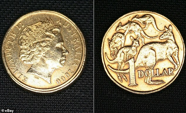 If you see two rings on your dollar coin it could be worth up to $4000 in really good condition - the $1 'mule' from 2000 was accidentally stamped with the smaller head side of a 10c piece