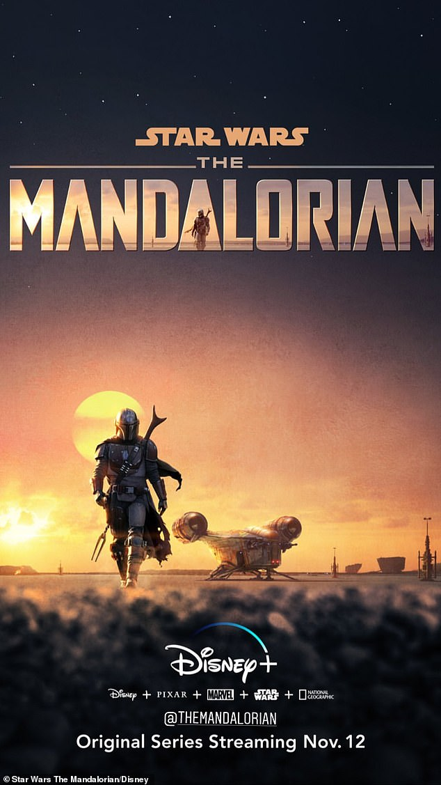 New show: The Mandalorian is just one of hundreds of TV shows and movies that will be available when Disney Plus launches on November 12