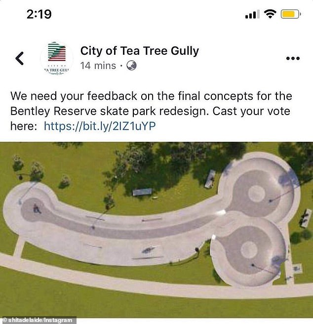 Some commenters on the skate parks design used Photoshop to add their own twist to the park layout