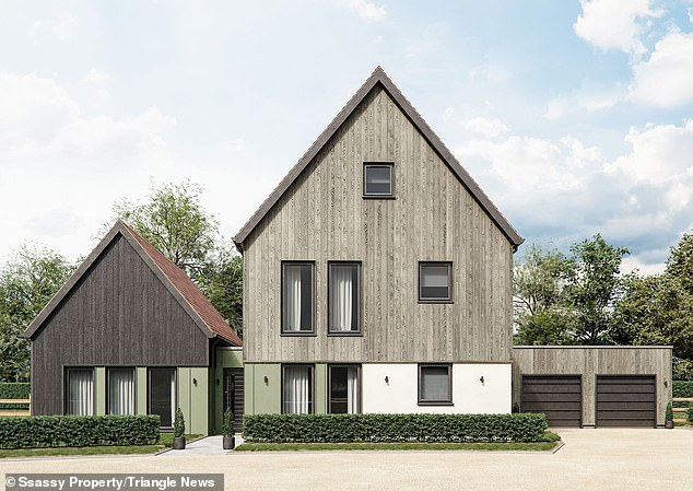 The homes being built need virtually no heating or cooling as they are built to the 'Passivhaus' model — a voluntary, German-derived standard for energy efficiency