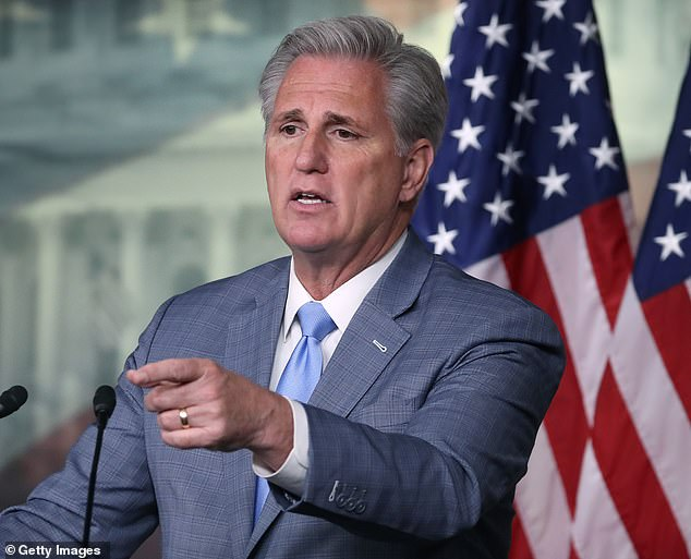 House Republican Leader Kevin McCarthy is supporting the censure resolution into Schiff