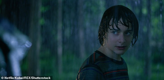 Teen star: Noah's best known as playing Will Byers in hit Netflix sci-fit series Stranger Things