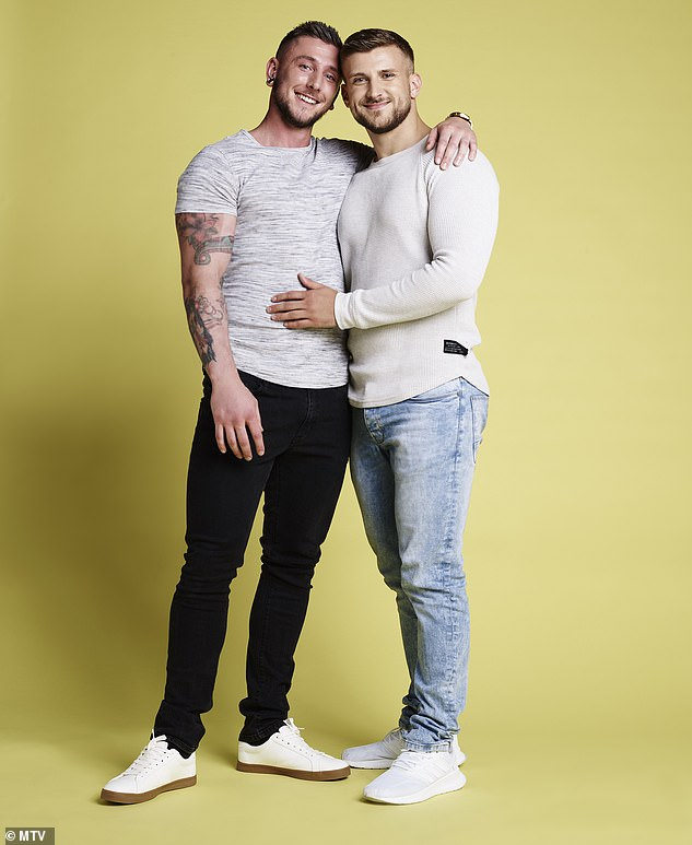 Hunks: Scottish couple Scott and Ryan met at school and have been together for six years