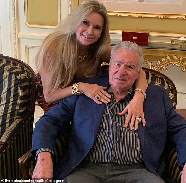'She was embarrassed by it, and she was also going through a kind of a bad period in her life, weight-wise,' David said on his daughter Victoria and her feelings about filming Queen of Versailles . 'Everything that could have gone wrong, went wrong'