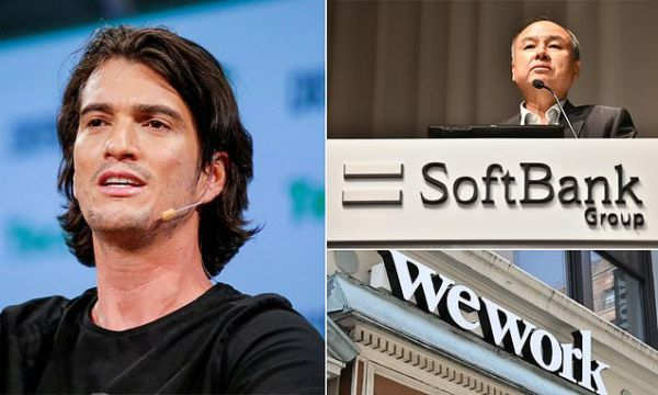SoftBank plans to pay WeWork founder $200M to give up his board seat
