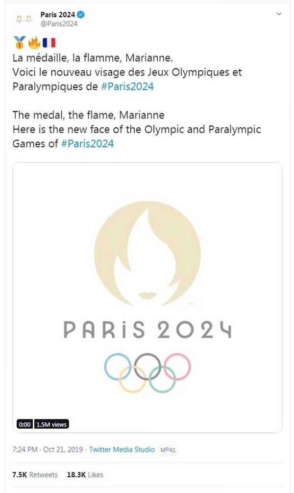 Logo for 2024 Paris Olympics is mocked for
