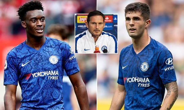 Lampard hails impact of Hudson-Odoi and Pulisic ahead of Ajax clash