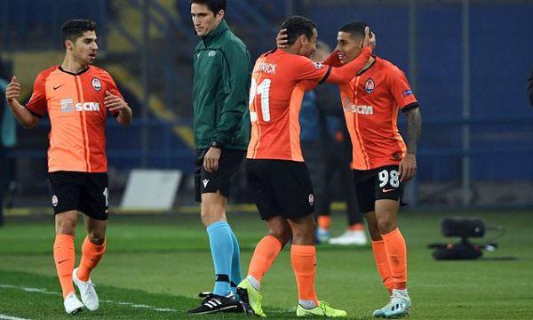 Dodo rescues point for Shakhtar Donetsk in Dinamo Zagreb draw