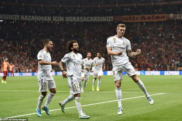 Galatasaray 0-1 Real Madrid: Toni Kroos scores in unconvincing victory