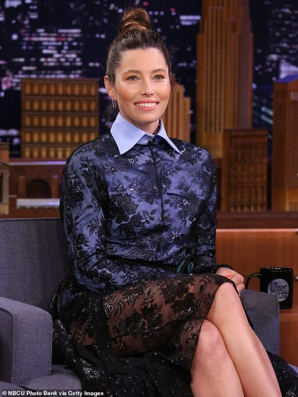 Jessica Biel admits she doesn