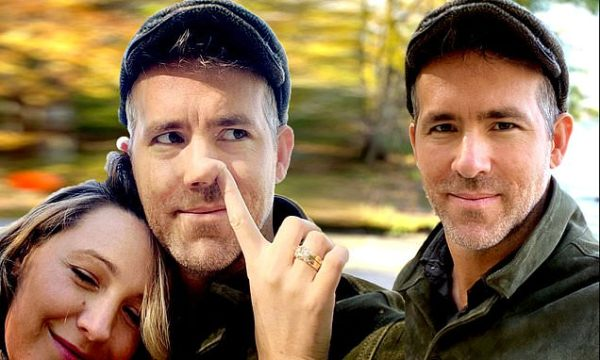 Ryan Reynolds gets funny birthday greeting from wife Blake Lively