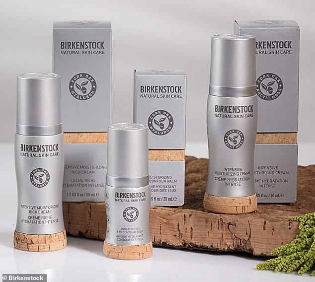 Head-to-toe: Birkenstock, the German brand known for their popular cork footbed sandals, have expanded into skincare