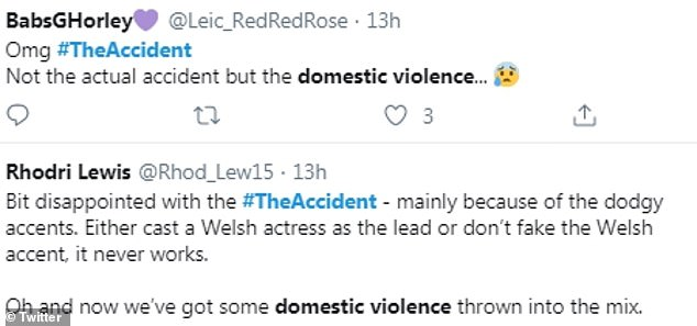 While the show was inspired by the real-life Grenfell Tower tragedy, it was the domestic abuse scene that caused a stir online