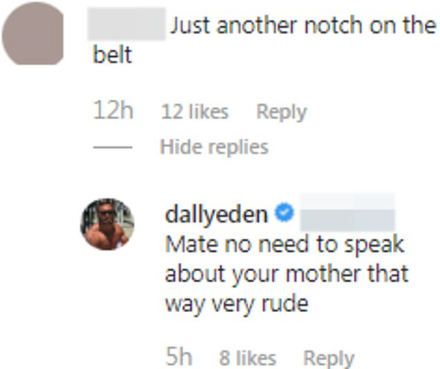 Ouch!After news broke that Cyrell and Eden had broke up, followers flocked to Eden's Instagram to share their thoughts and slam him