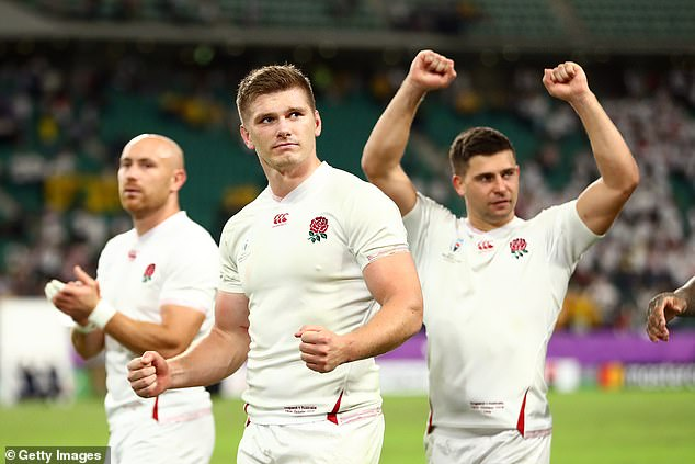 England's players will reportedly share a £1.2m bonus if they can reach Rugby World Cup final