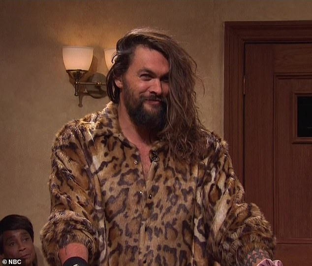 Cameo: The Aquaman star played male gigolo Apollo Benz in the TV courtroom sketch, First Impressions Court