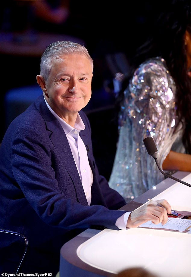 Called out: X Factor: Celebrity fans ruthlessly mocked Louis Walsh as the judge claimed he 'grew up' watching Ricki Lake